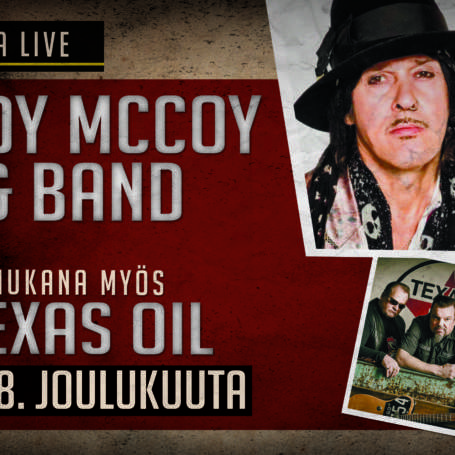 ANDY MCCOY / TEXAS OIL LA 28.12